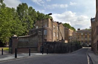 克里斯戴森的弧形砖延伸完成了伦敦的乔治亚风格露台