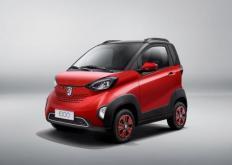 这是宝骏E100这是一款面向中国的新型电动迷你汽车