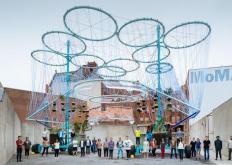 由农业废料制成的有机塔赢得了MoMAPS1青年建筑师计划