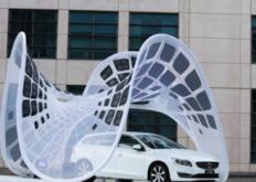 沃尔沃PureTensionPavilion通过合成设计建筑为电动汽车充电