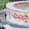 日本建筑师濑户和世在日本犬岛上的一系列画廊中增加了圆形庭院和经过翻新的木