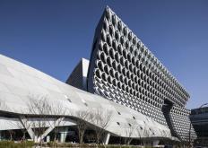 UNStudio进行翻新并掩盖了汉城办公楼的全部位置