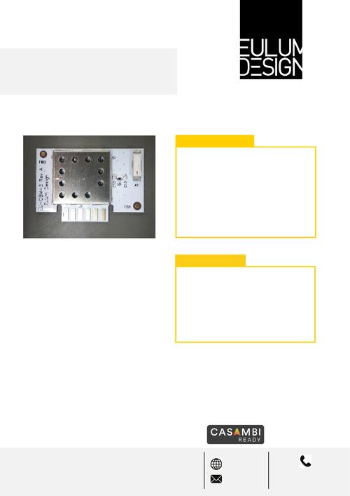 Casambi启用了基于蓝牙网状网络的照明控制