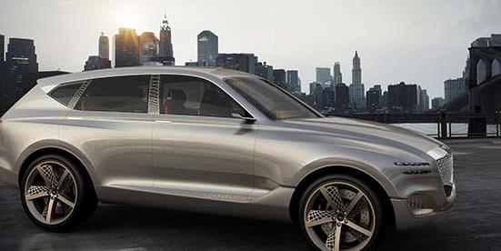 创世纪GV80燃料电池概念在纽约车展上亮相