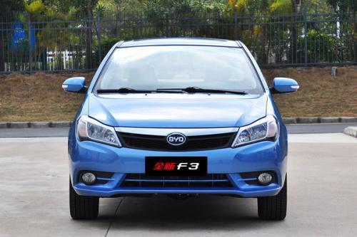 最先谍照曝光了改款的比亚迪F3轿车的中国