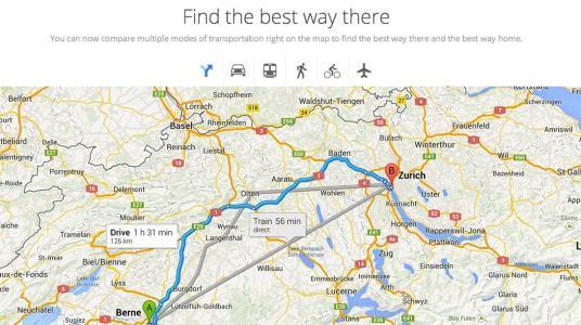 多种颜色的使用实际上是使谷歌Maps引入此新功能的原因
