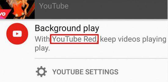 谷歌电视操作系统的YouTube应用程序已经有一段视频选项