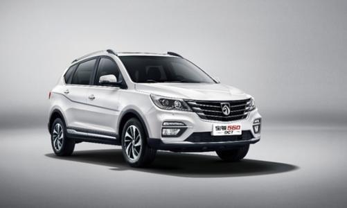 宝骏发布了中国宝骏560SUV的首张照片
