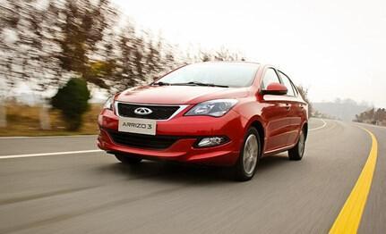 新奇瑞Arrizo3已经推出了中国汽车市场上