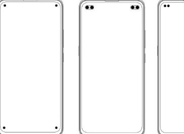 vivo智能手机获得多项四孔智能手机设计专利