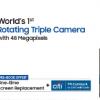三星Galaxy A80即将通过Flipkart在印度上