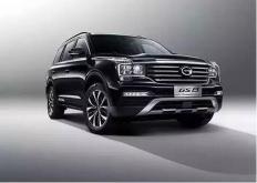 这是改型的广汽传祺GS5SUV它将在本月晚些时候在中国汽车市场上推出