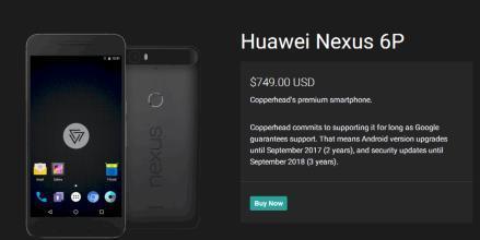 这意味着运行CopperheadOS的Nexus设备不再能够接收OTA更新
