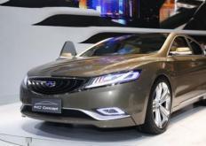 吉利帝豪EC9几乎已准备好进入中国汽车市场
