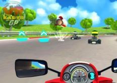 VR卡丁车装备具有触觉反馈和风力模拟功能