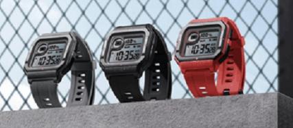 华为AMAZFIT NEO具有复古设计的智能手表