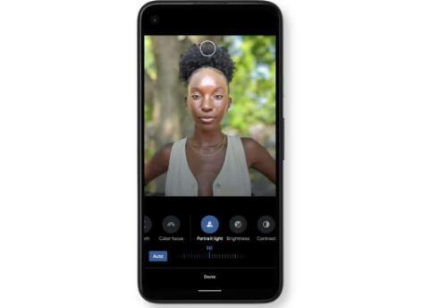 谷歌Pixel 5上的新肖像光模式由AI驱动