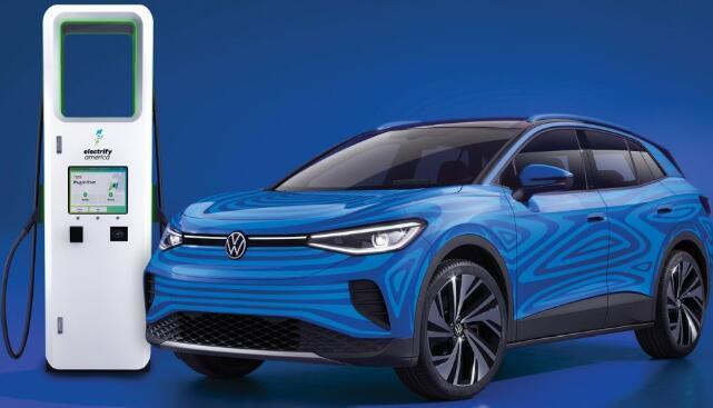 大众ID.4电动SUV在美国提供三年无限充电