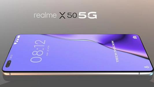 RealmeX50系列包含Realme的5G智能手机