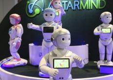 您在CES会面的五种类型的机器人