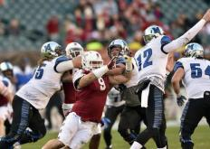 NCAA美式橄榄球20/21赛季常规赛第15周的一场比赛