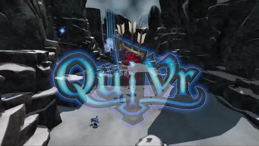 QuiVr当然比传统的射箭模拟器更像是一种基于幻想的体验