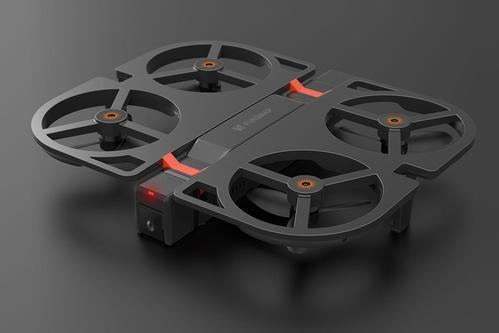 与Funsnap合作而诞生的最近资助的小米iDol无人机
