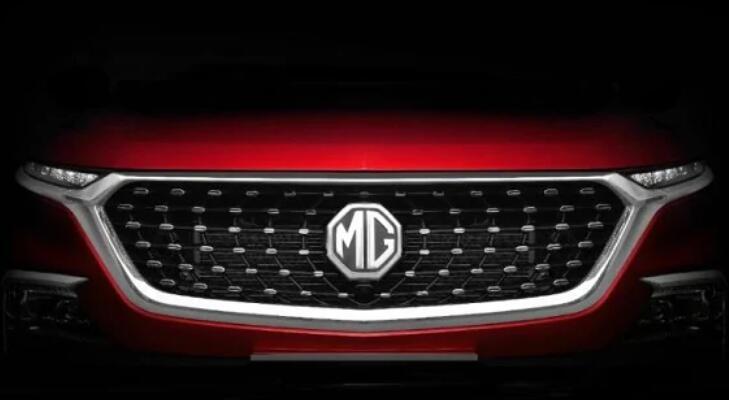 MG Motor India的新款紧凑型SUV将于今年晚些时候上市