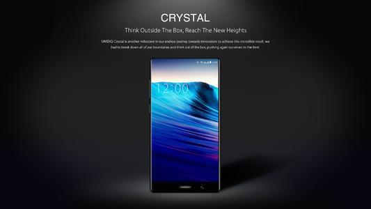UMIDIGICrystal至少在其视频介绍中绝对看起来令人惊艳