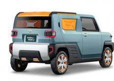 接下来是大发的WaiWai概念三排六座载人运输车