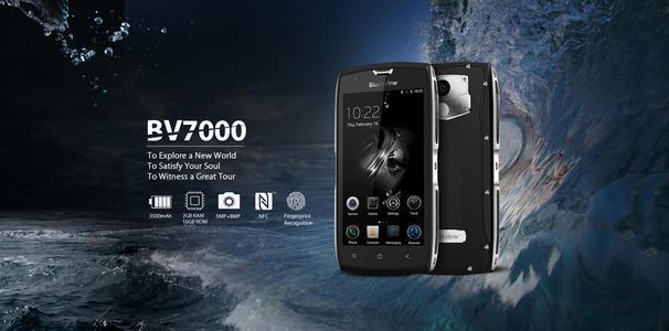廉价耐用型手机BlackviewBV7000经过压力测试