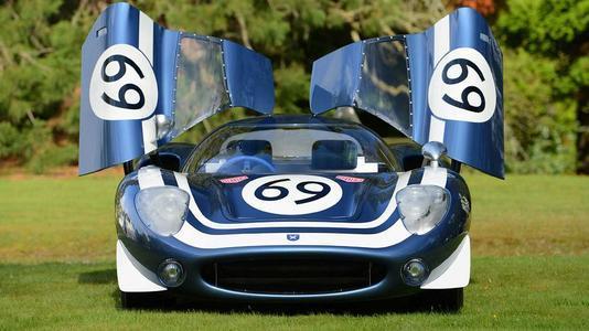 LM69的造型仍然忠实于原始的JaguarXJ13