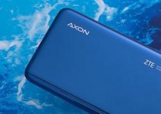2020年9月发布了全球第一款屏幕下拍照手机ZTEAxon20