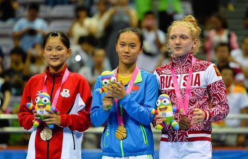 女队今天总体表现非常好朱雪莹最终得分达到57.2分以上
