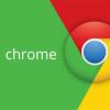 在谷歌Chrome浏览器的预览窗口的顶部