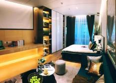 第二套半价的活动针对的是25平方米的平层公寓