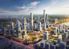 西安市能源金贸区地块拍卖的成交溢价率高达279%