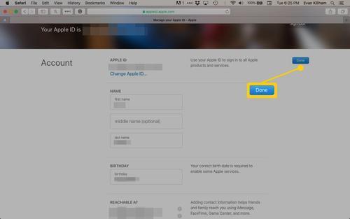 可以通过该公司的AppleIDWeb门户访问该数据宝库