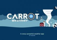CARROTWeather是一款非常受欢迎的应用程序