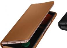 GalaxyZFold2皮革翻盖保护套的价格为99,000韩元