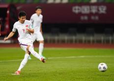 中国男足5月30日在一场世界杯预选赛中以7:0大胜关岛队