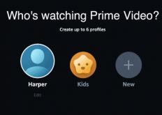 AmazonPrimeVideo不允许用户自定义他们的个人资料图标