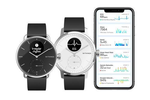 WithingsScanWatch是一款以健康为导向的智能手表