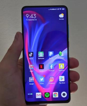 即将推出的小米智能手机可能配备120HzOLED显示屏