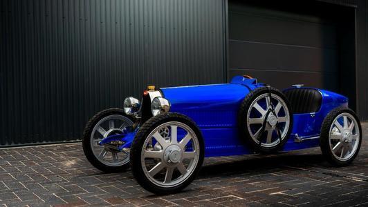 布加迪在日内瓦车展上宣布推出新款布加迪BabyII儿童车