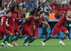 最终比利时队以1∶0击败葡萄牙队昂首挺进本届欧洲杯的八强