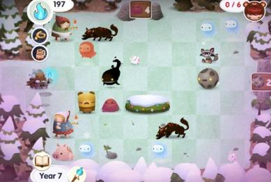 拥抱iOS益智游戏RoadNotTaken的寒冬之谜