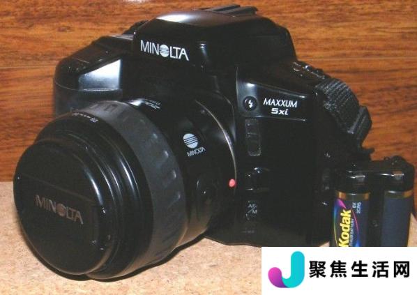 那是一台MinoltaMaxxum5坦率地说这是我从未听说过的相机