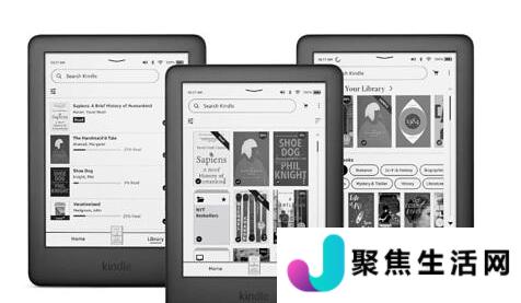 Kindle更新改进了主屏幕和导航体验
