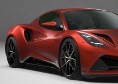 2022年莲花Emira V6第一版的细节